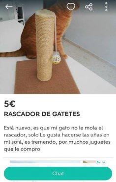 RASCADOR DE GATETES