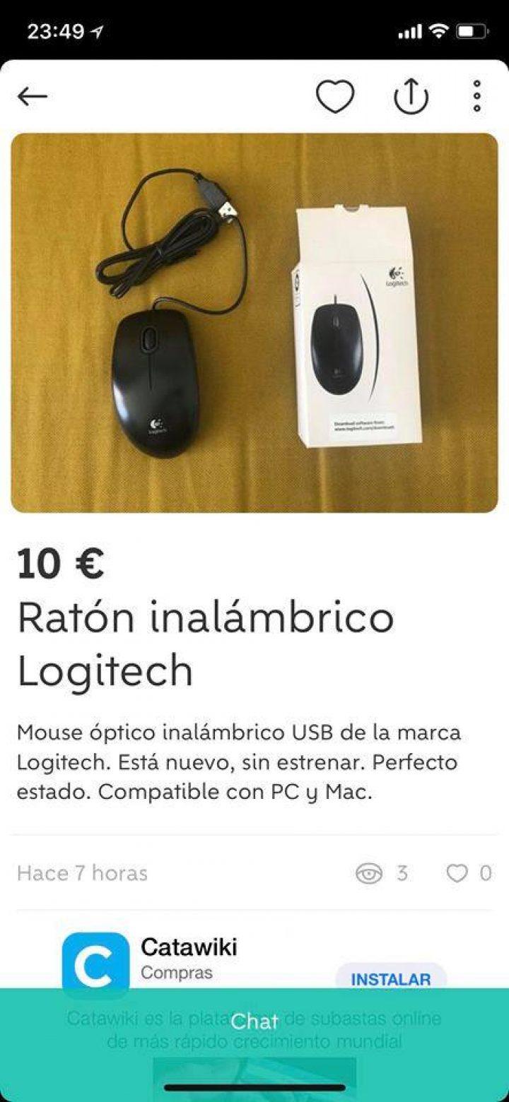 RATÓN INALÁMBRICO