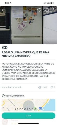 REGALO UNA NEVERA