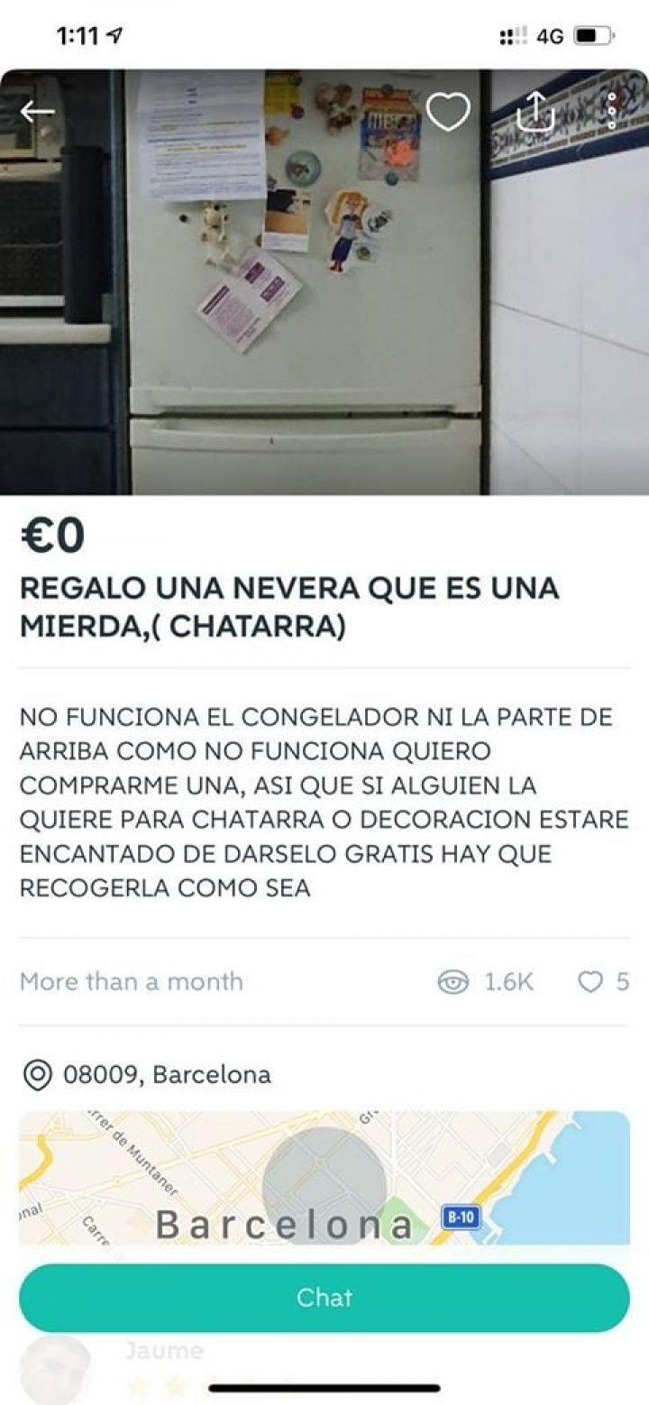 REGALO UNA NEVERA