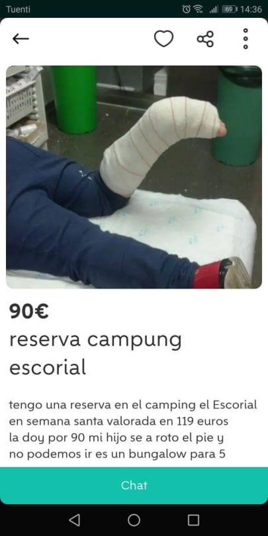 RESERVA CAMPING