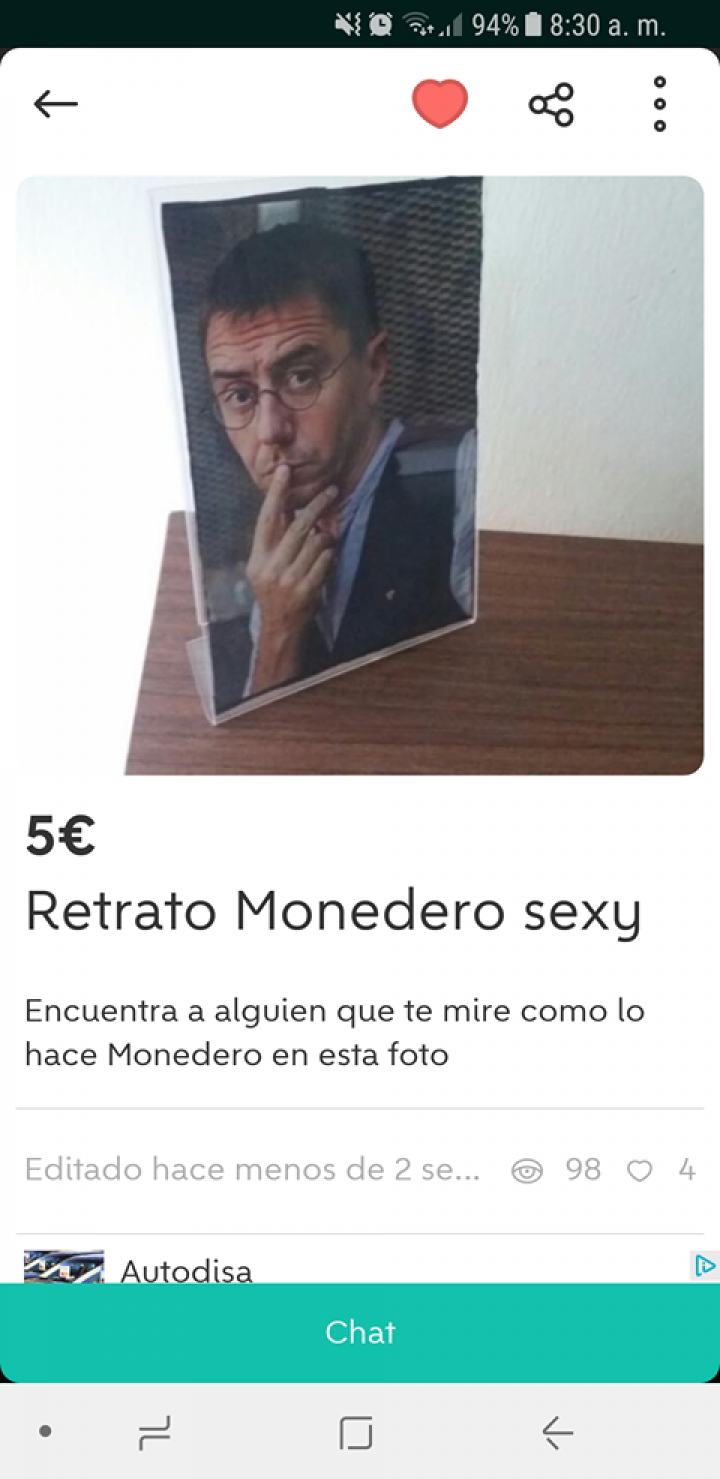 RETRATO MONEDERO