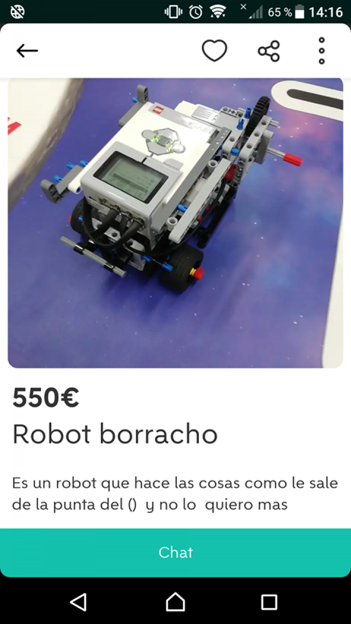 ROBOT BORRACHO