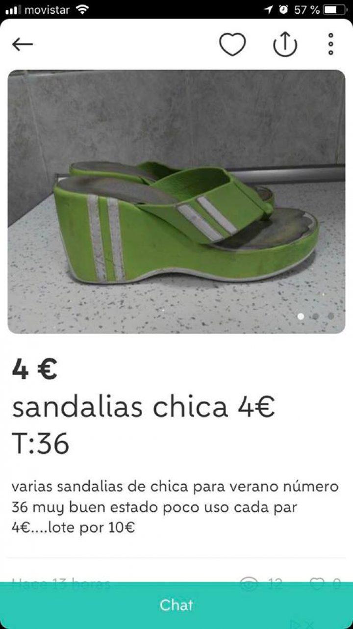 SANDALIAS CHICA