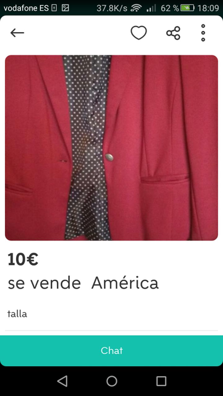 SE VENDE AMÉRICA