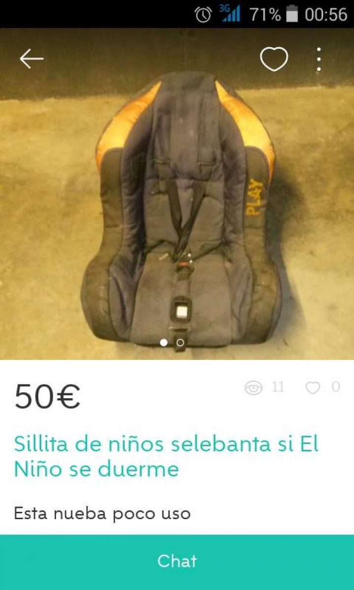 SILLITA DE NIÑOS