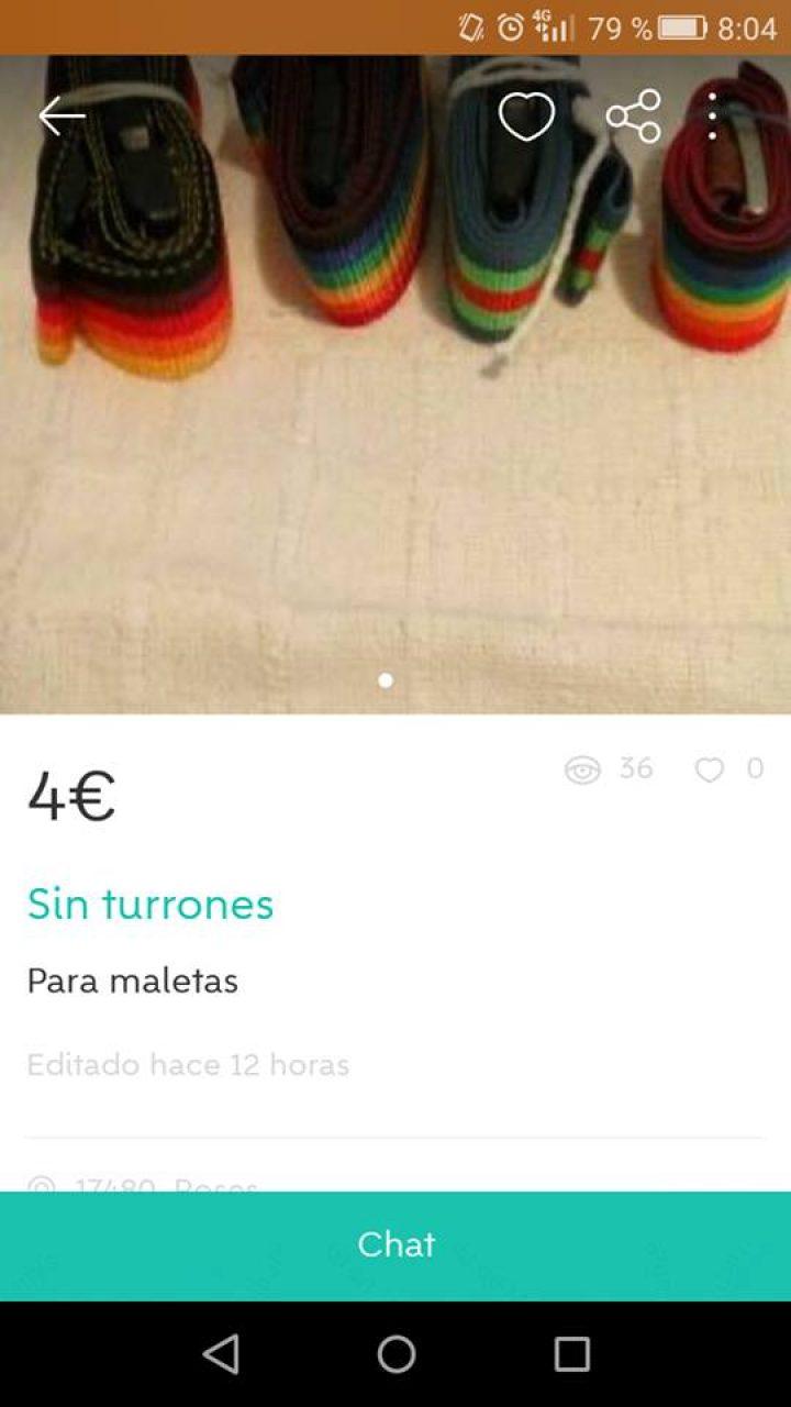 """SIN TURRONES"""