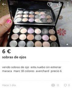 """""""SOBRAS DE OJOS"""""""