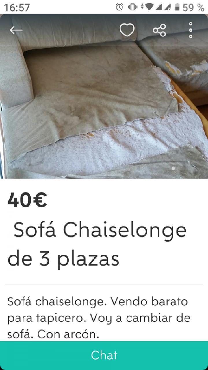 SOFÁ CHAISLONGE