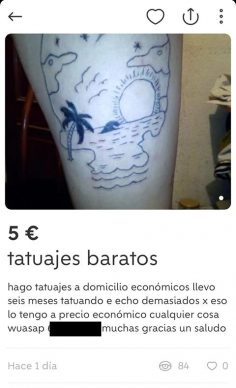 TATUAJES BARATOS