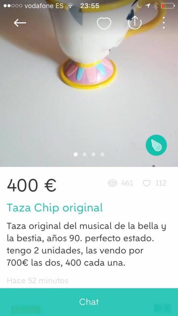 TAZA CHIP ORIGINAL