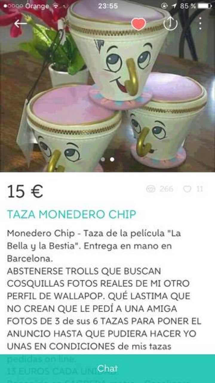 TAZA MONEDERO
