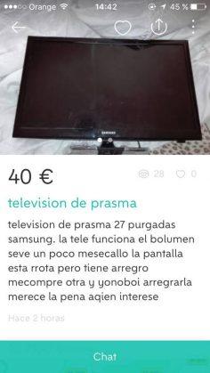 """TELEVISIÓN DE """"PRASMA"""""""