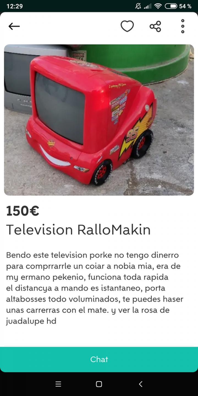 TELEVISION RALLOMAKIN