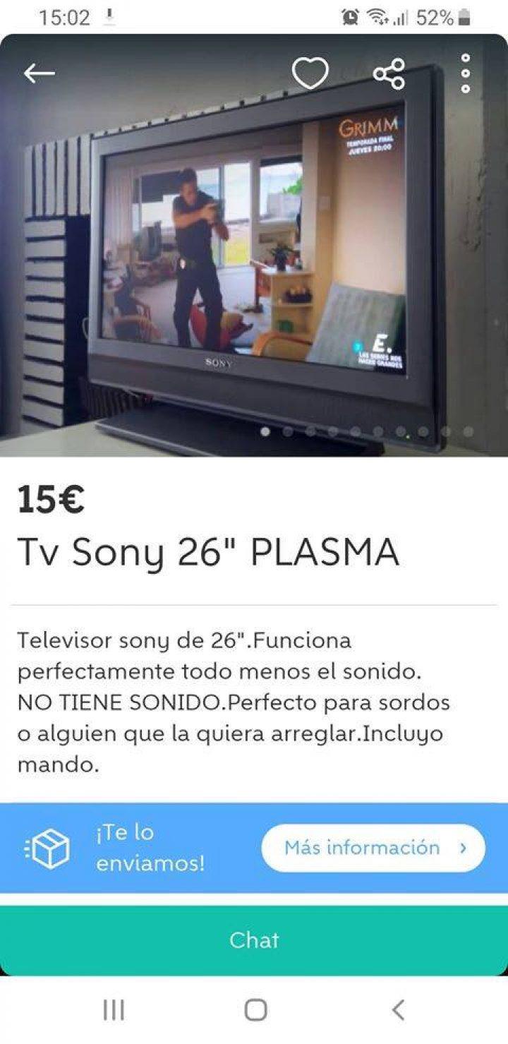 TV SONY 26″