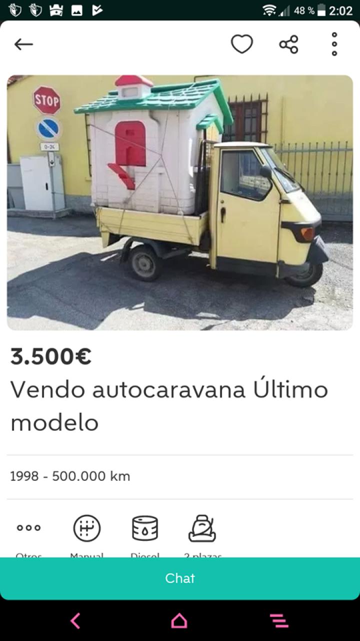 AUTO-CARAVANA ULTIMO MODELO