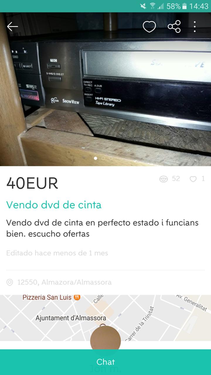 VENDO DVD DE CINTA
