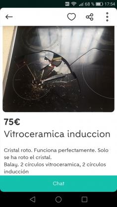 VITROCERÁMICA INDUCCIÓN