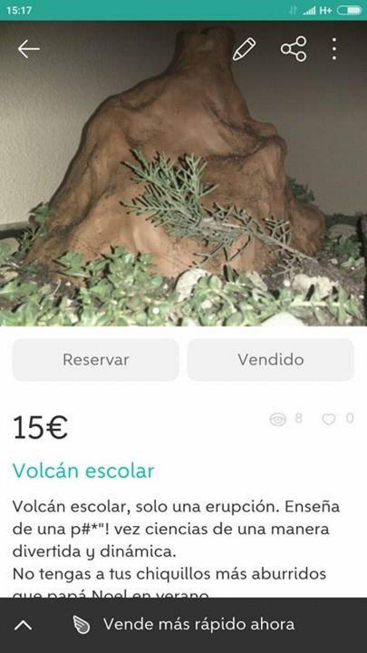 VOLCÁN ESCOLAR