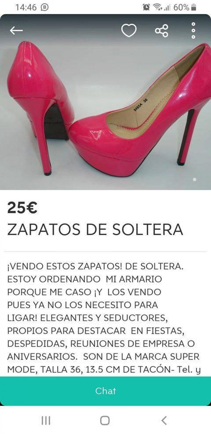 ZAPATOS DE SOLTERA